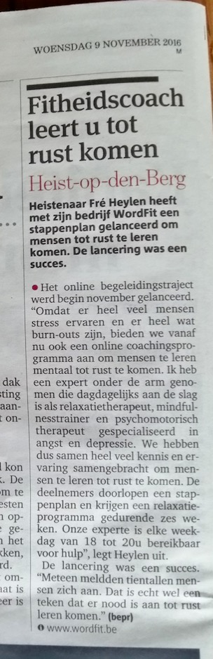 WordFit in de media