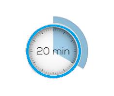 Verzadigingsgevoel na 20 minuten WordFit.be