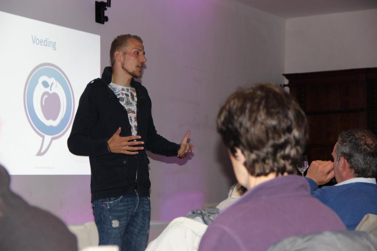 Gastspreker fitte levensstijl: Frédéric Heylen WordFit.be
