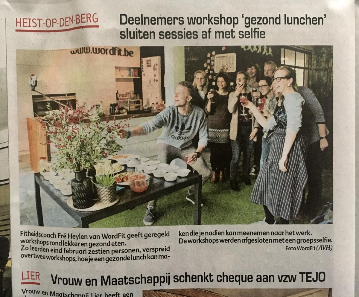 Kookworkshops WordFit in HLN