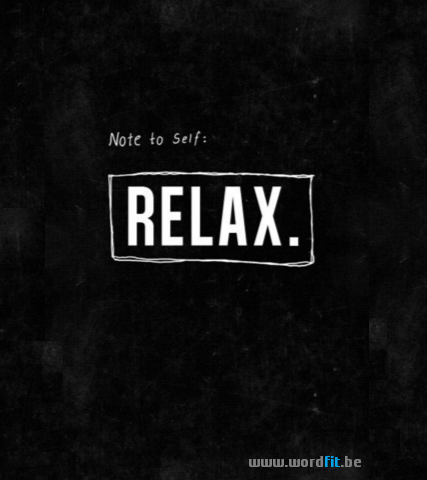 Lessenreeks Relaxatie WordFit.be
