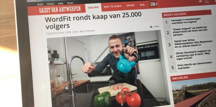 Artikel Gazet Van Antwerpen 10/02/2018
