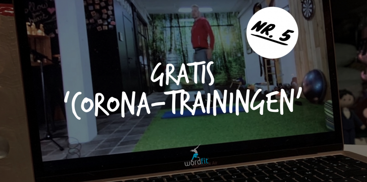 Gratis Corona-training WordFit Fré Heylen
