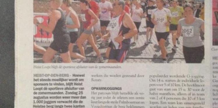 Artikel De Streekkrant Special Heist Zomert 26/06/'13