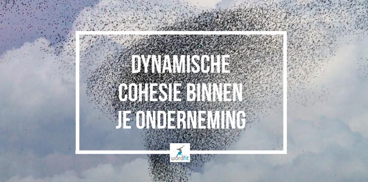 Dynamische cohesie tussen je werknemers WordFit Vitaal Bedrijf-programma