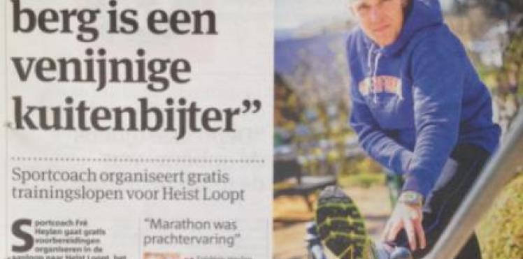 Artikel Gazet van Antwerpen 20/04/'13