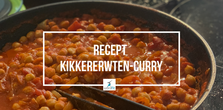 recept kikkererwten curry chana masala WordFit lifecoaching