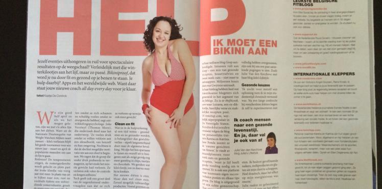 Artikel Magazine Het Nieuwsblad 19/04/2014