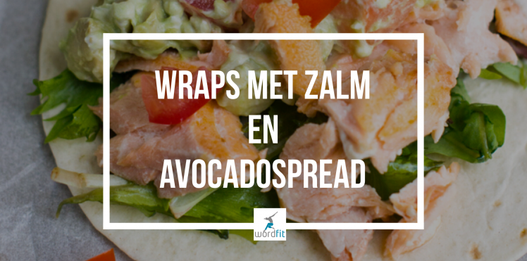 Recept wraps met zalm en avocadospread