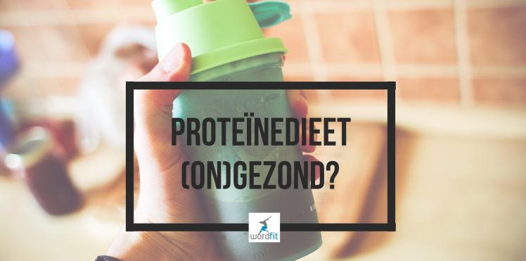 Proteïnedieet gezond?