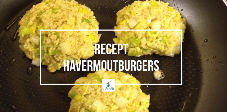 Recept Havermoutburgers WordFit.be Gezonder eten