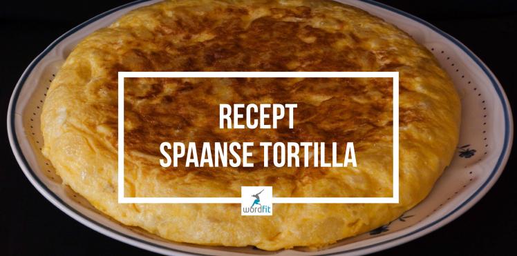 Recept Spaanse tortilla WordFit