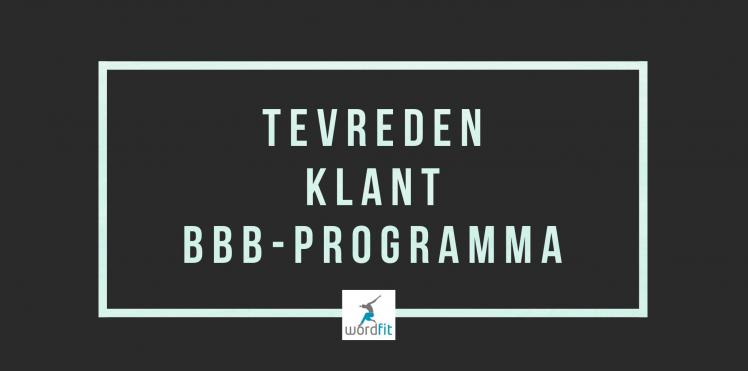 Getuigenis BBB-programma WordFit