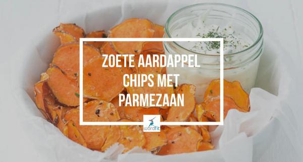 Chips van zoete aardappel WordFit Lifecoaching