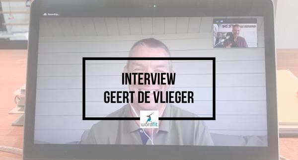 Interview Geert De Vlieger Goed in je Vel-podcast Fré Heylen WordFit