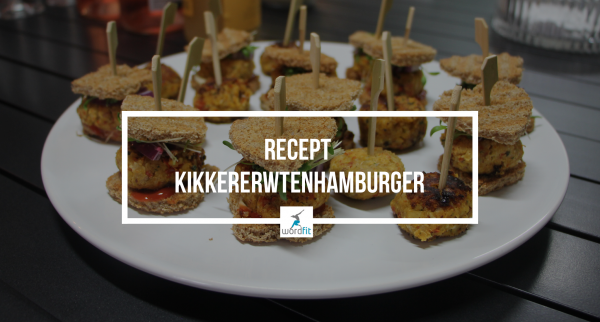 Recept Hamburger van kikkererwten WordFit Lifecoaching