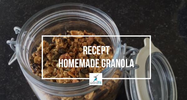 Recept Homemade granola Gezonder eten voor meer energie WordFit