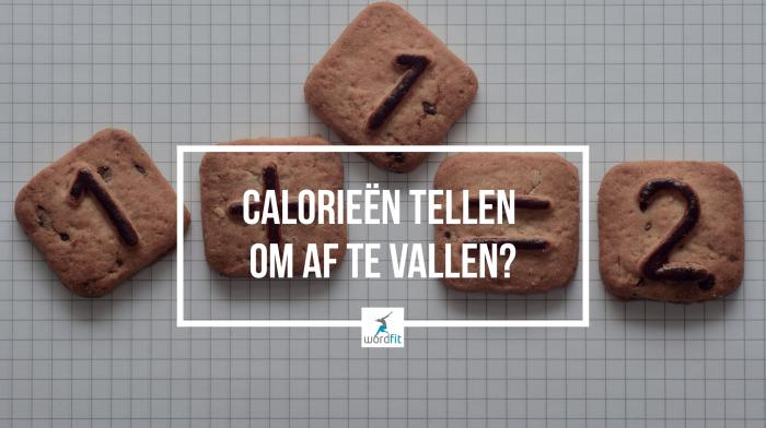 Calorieën tellen om af te vallen? WordFit.be