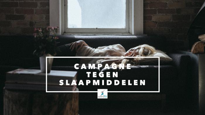 Campagne tegen slaap- en kalmeringsmiddelen