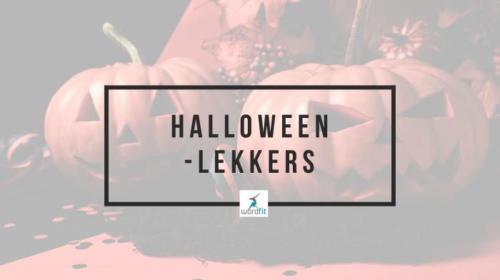Gezond Halloween-lekkers