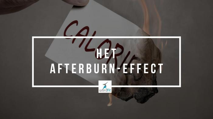 Het afterburn effect WordFit lifecoaching