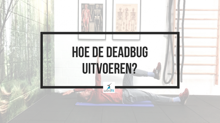 Deadbug hoe uitvoeren? WordFit.be Je lichaam thuis verstevigen