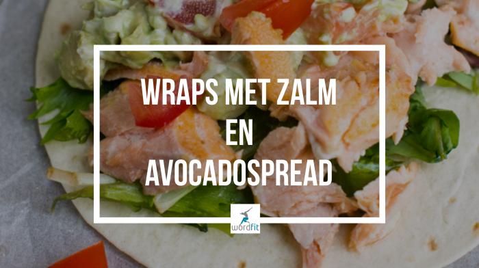 Recept wraps met zalm en avocadospread