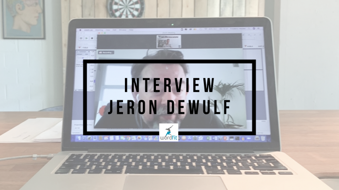 Interview Jeron Dewulf Goed in je Vel-podcast