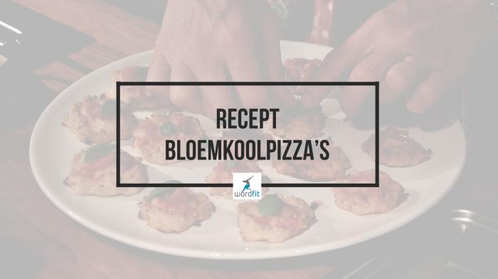 Recept Bloemkoolpizzadeeg WordFit