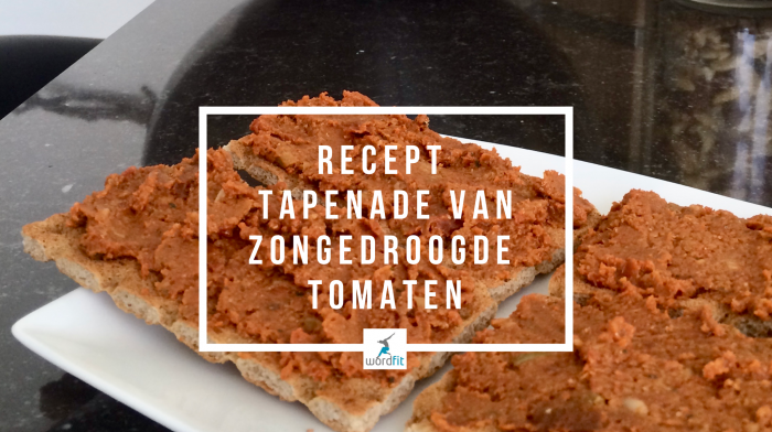 Recept Tapenade zongedroogde tomaten