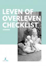 'Leven of overleven' checklist