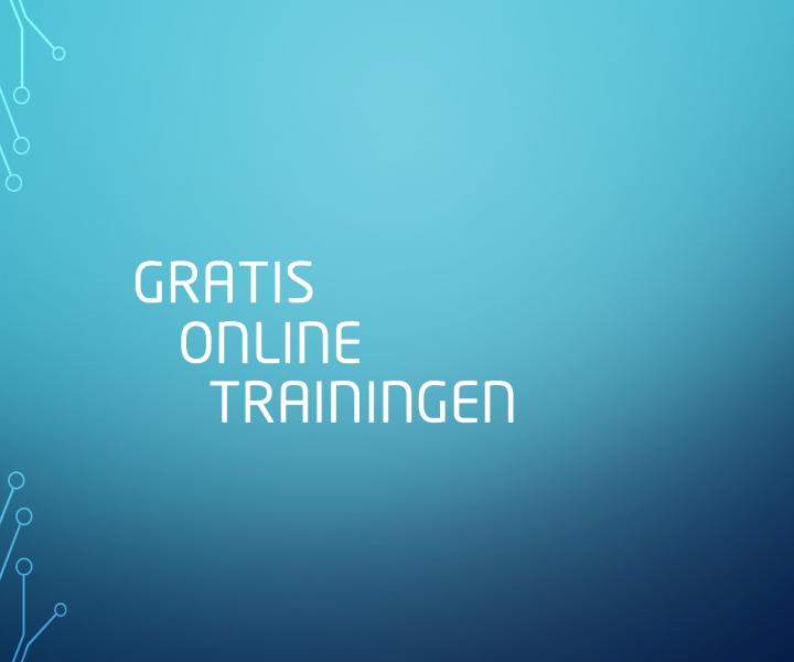 Gratis online trainingen WordFit