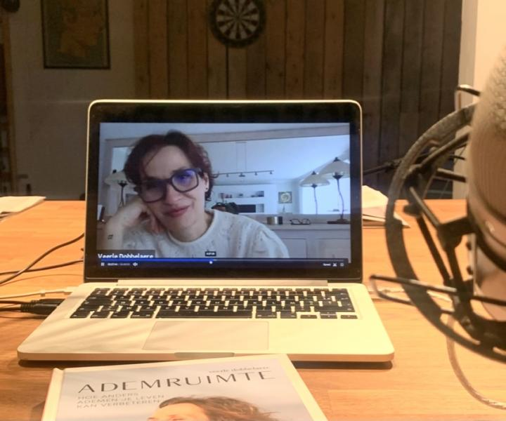 Interview Veerle Dobbelaere Goed in je Vel-podcast