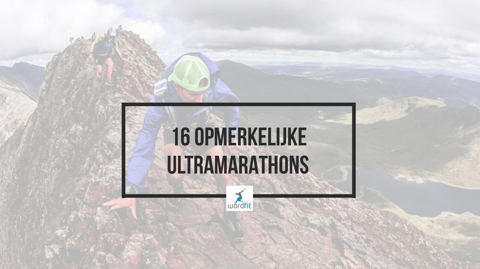 Extreme ultramarathons WordFit.be