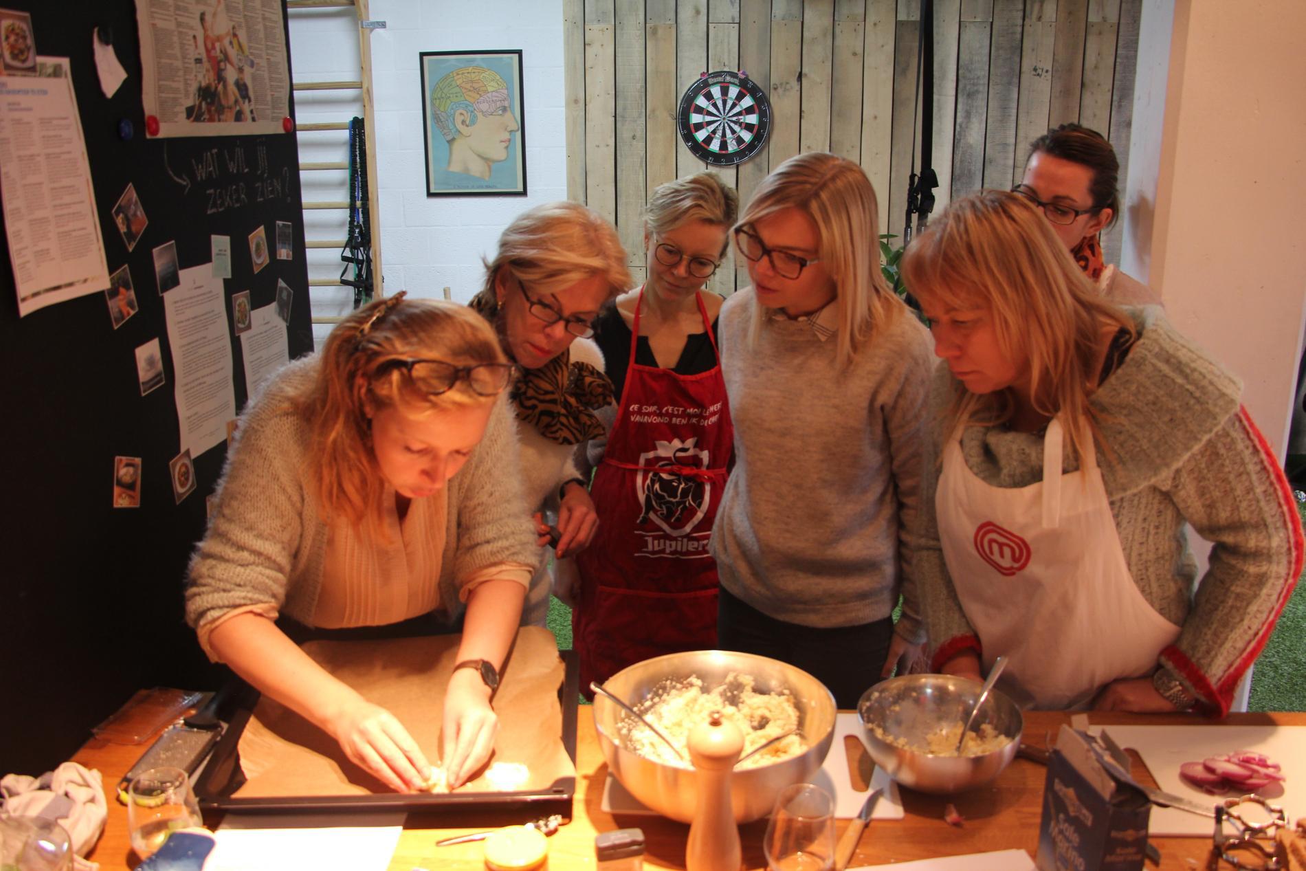 Pizza van bloemkool maken WordFit.be Gezond leren eten