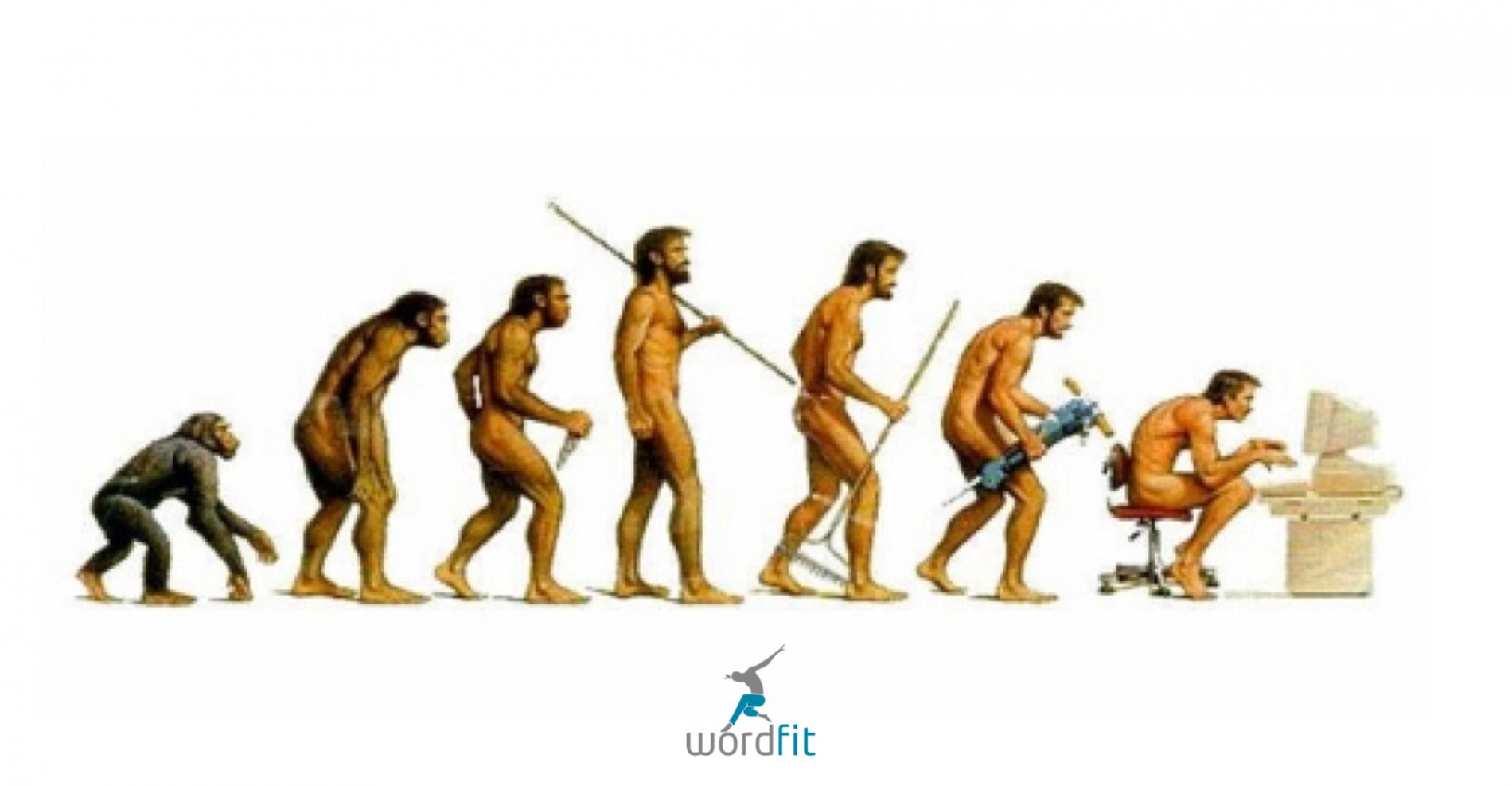 Evolutie naar altijd zittende mens