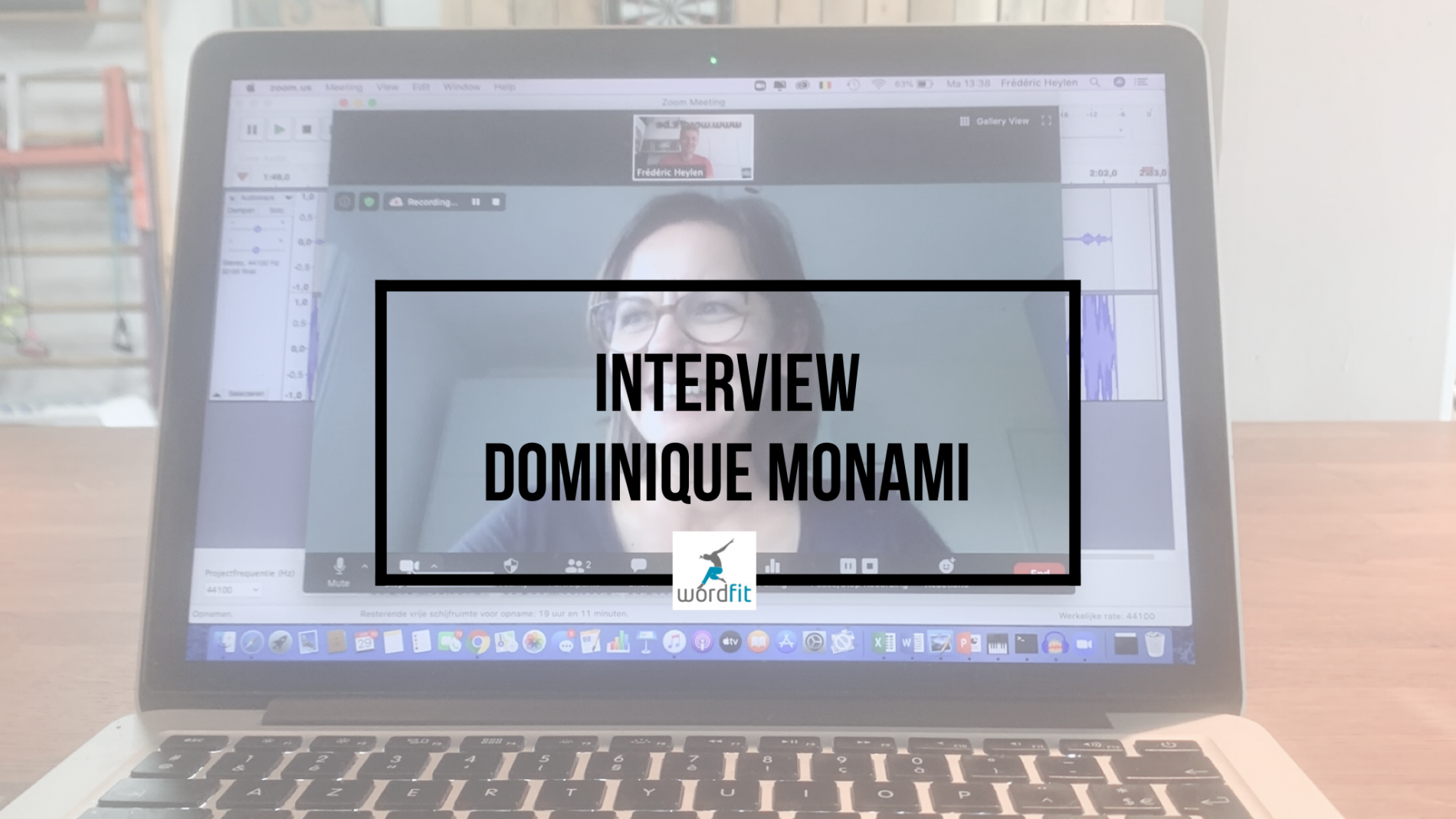 Interview Dominique Monami Goed in je Vel-podcast Fré Heylen WordFit