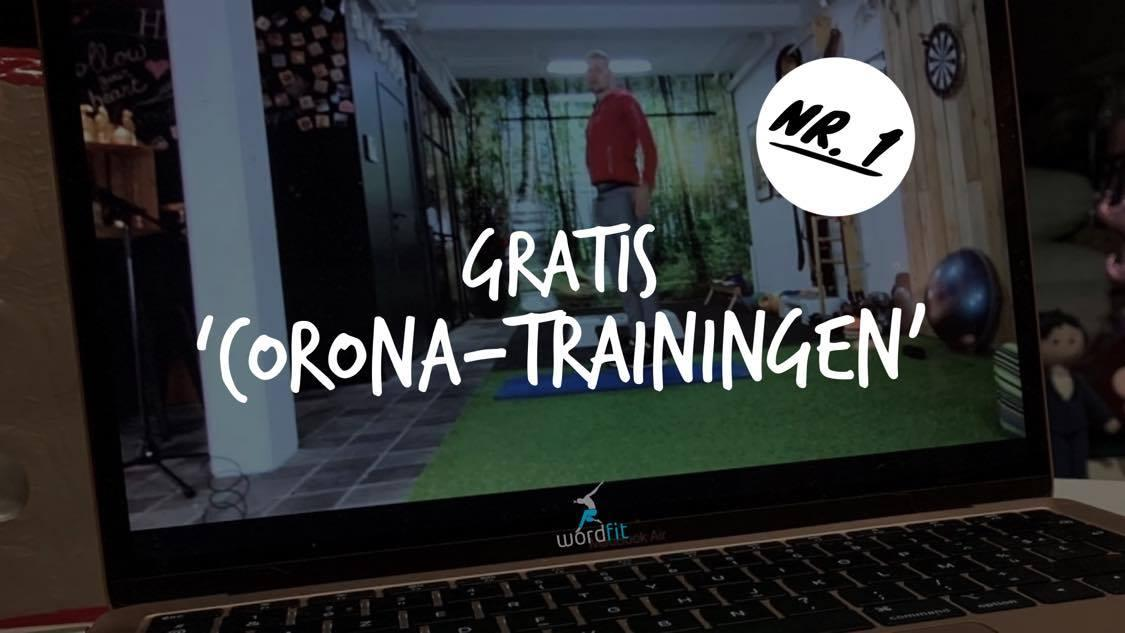 Opname 1e Corona-training WordFit Gewoon thuis trainen