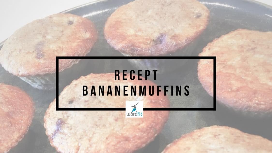 Recept Bananenmuffins WordFit Online lifecoaching voor meer tijd en energie voor jezelf