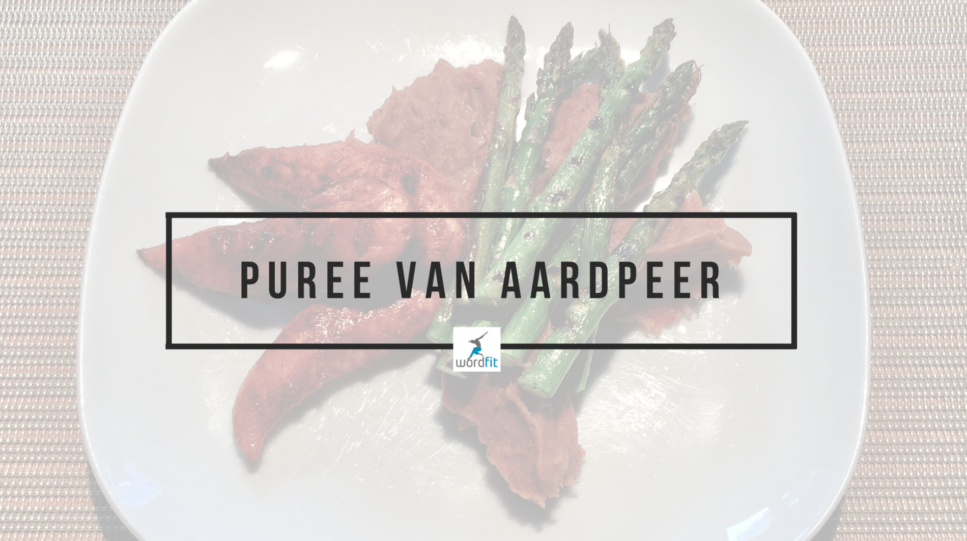Puree van aardpeer WordFit.be