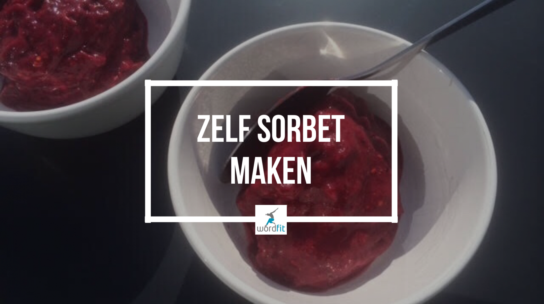 Recept Homemade sorbet