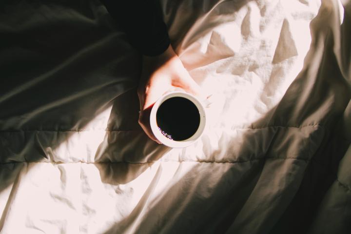 Slecht slapen door koffie WordFit.be