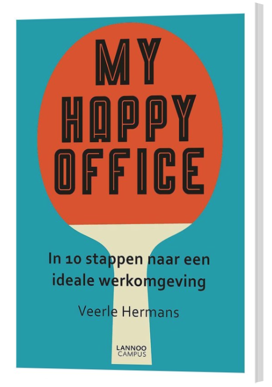 Win het boek My Happy Office van Veerle Hermans