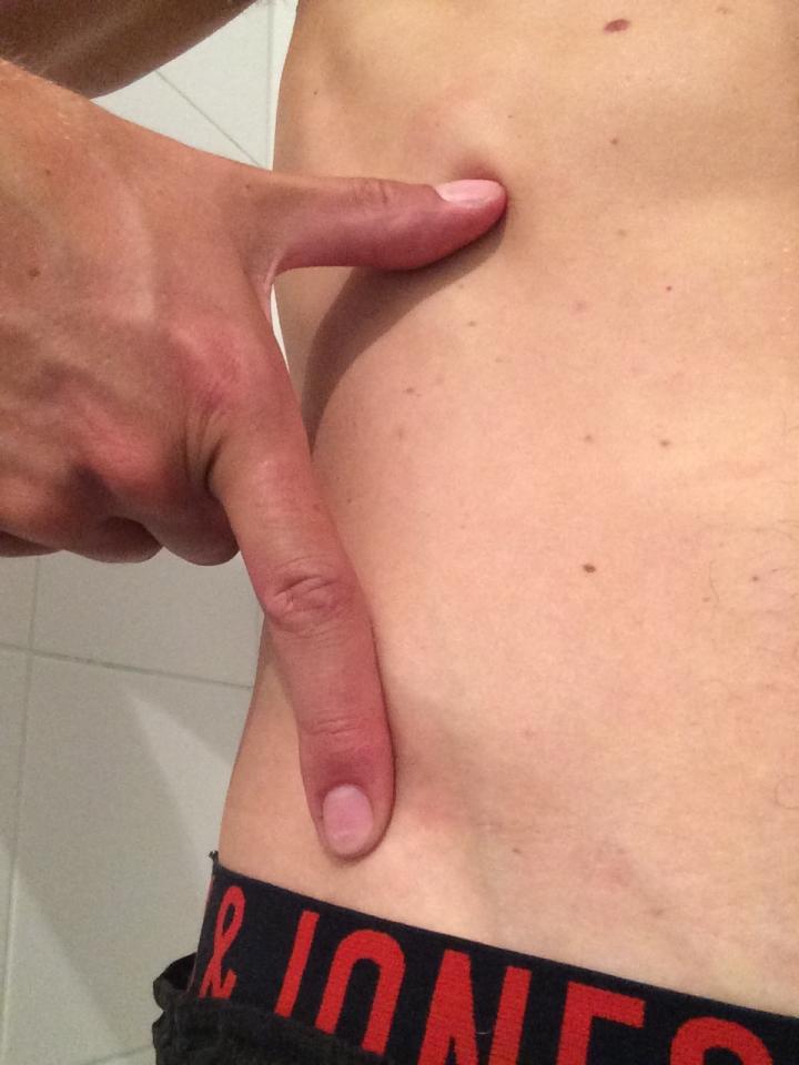 Pistoolgreep Controleren neutrale holling onderrug