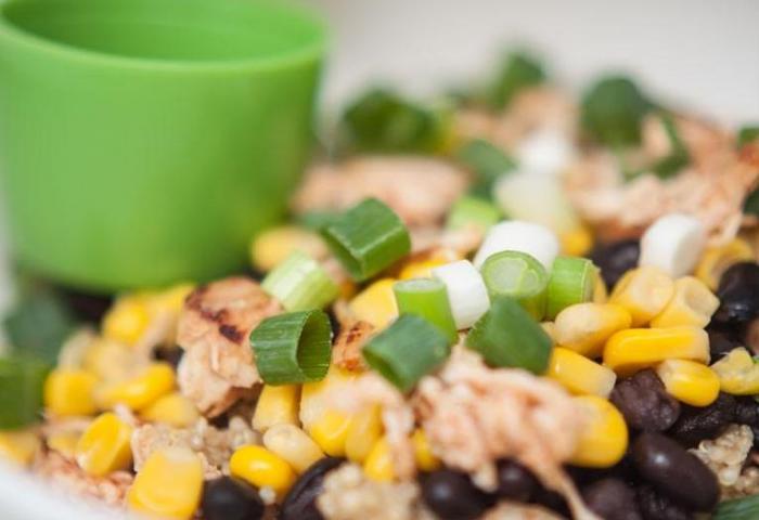Recept Maaltijdsalade Kip quinoa avocado WordFit
