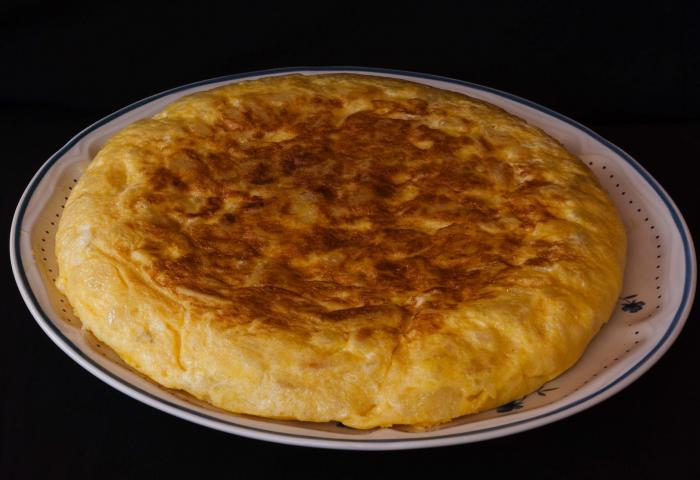Recept Spaanse tortilla WordFit